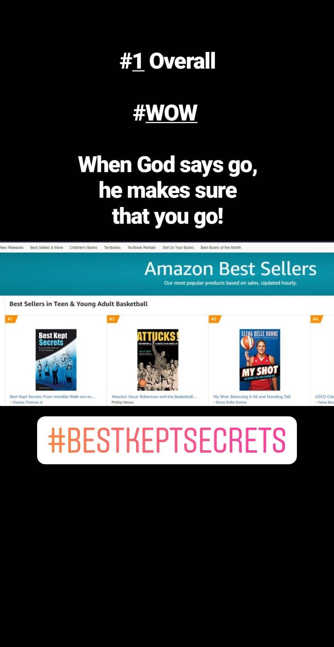 Best Kept Secrets – #1 Amazon Best Seller